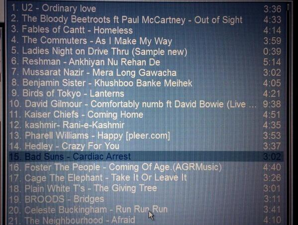 The Commuters featured on City FM 89's current playlist